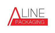 Logo design a line packaging concept