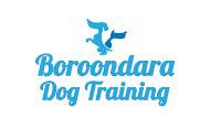 Logo design boroodara dog training